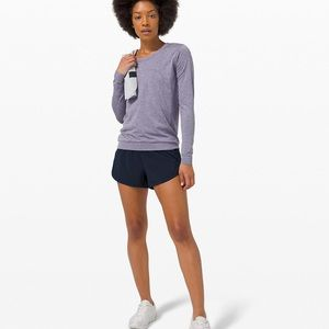NWT true navy high rise track that shorts